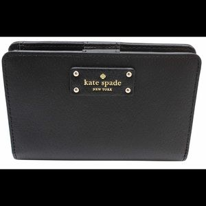 Kate Spade Tellie Grove Street Leather Snap Wallet
